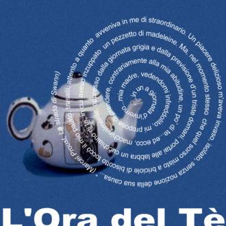 """logo dell """"Ora del té"""" - i gruppi di lettura della biblioteca"""