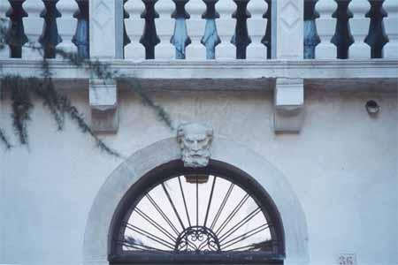 Villa Simion lato nord: particolare