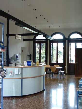 Villa Simion: atrio del primo piano