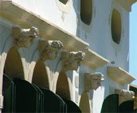 Villa Simion, facciata sud | Particolare