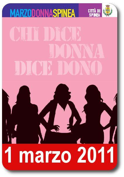 Marzo donna - 1 marzo 2011