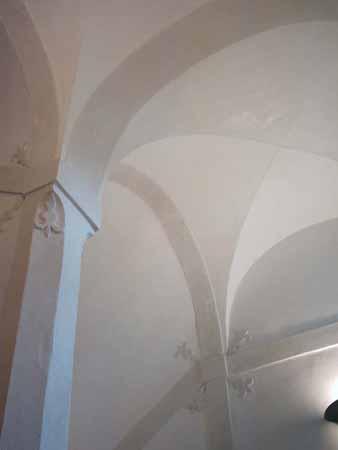 Villa Simion: la volta sulle scale