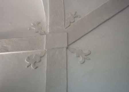 Villa Simion: fregio sulle scale