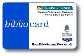 Tessera della Rete Bibliotecaria Provinciale - Provincia di Venezia
