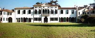 Villa Simion lato sud: panoramica