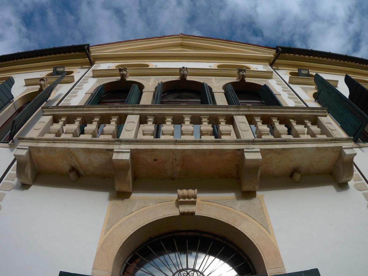 Villa Simion - facciata sud