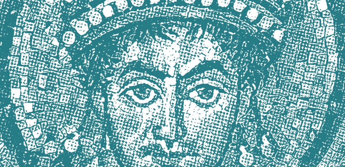 Ritratto mosaico Giustiniamo