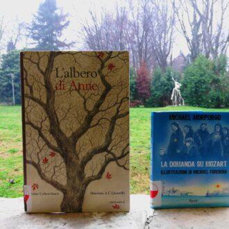 Giornata della memoria balcone con libri