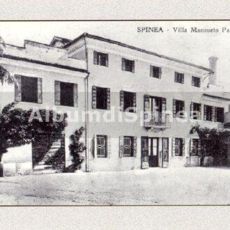 Veduta in scorcio di Villa Pasqualetto